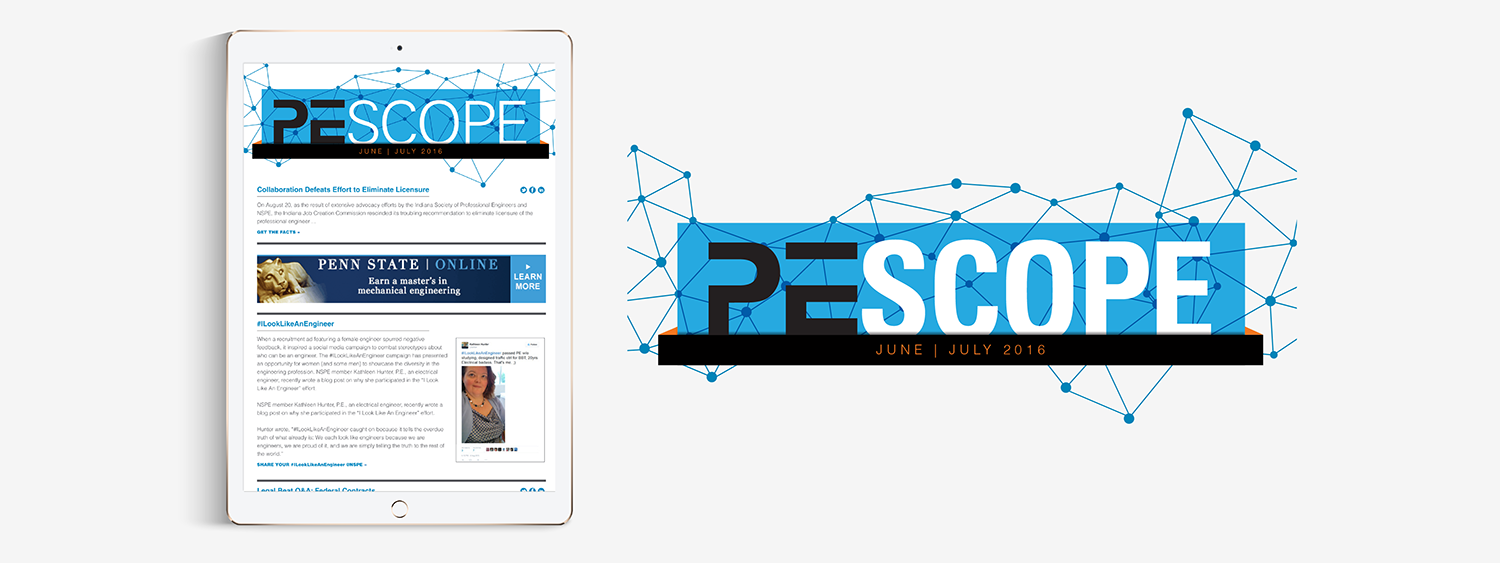 PE Scope enewsletter logo